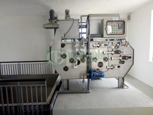 Hình ảnh thực tế hệ thống xử lý nước thải sinh hoạt tại Ecopark GĐ2