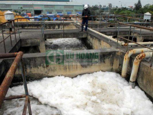 Hệ thống xử lý nước thải cũ